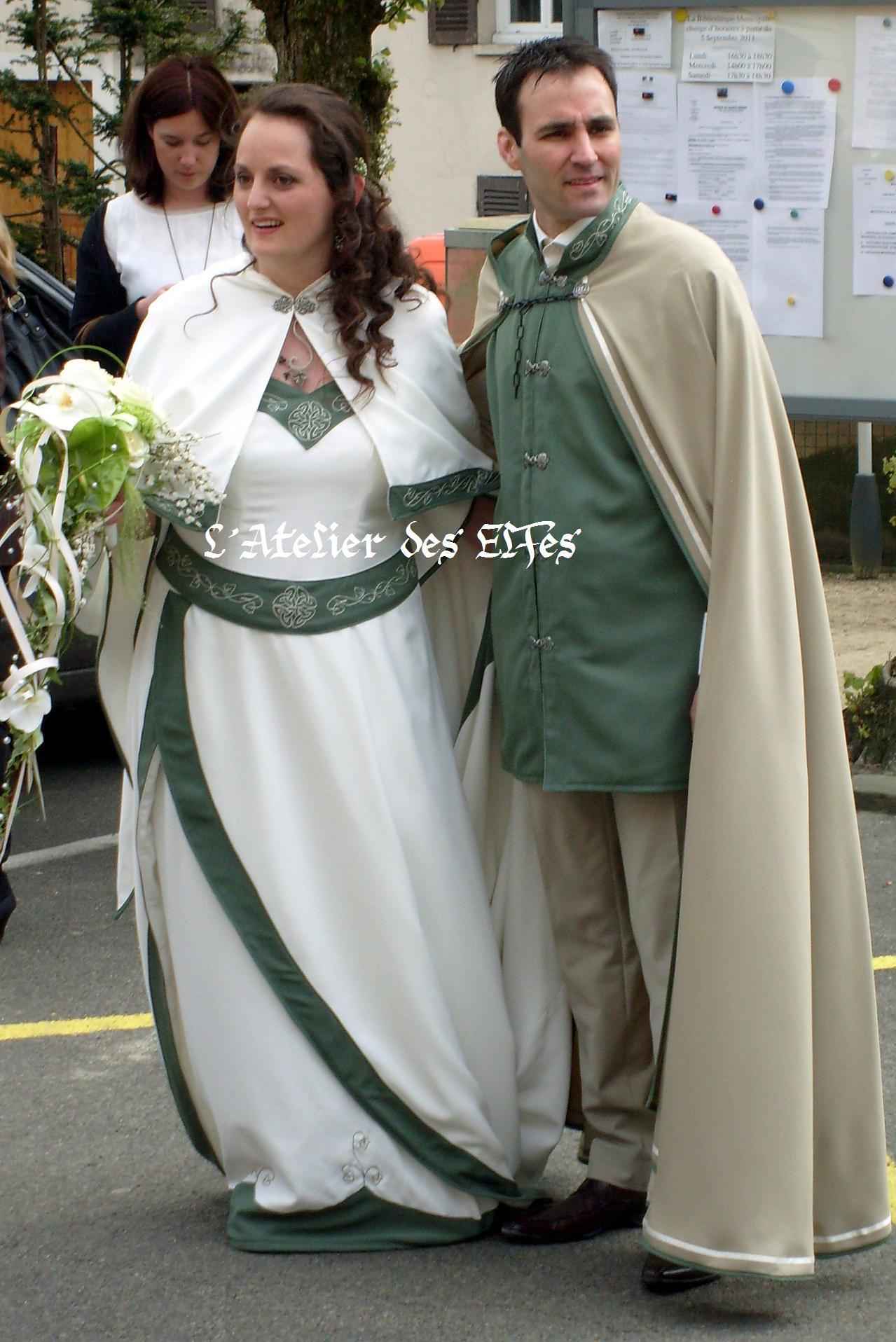 Robes de mariée elfiques  Photographie