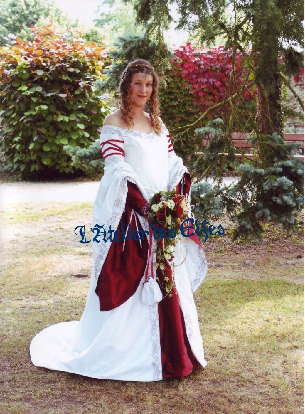 Costumes Ou Elfique Médiévaux Médiéval De Mariage Les Dame 7APwI